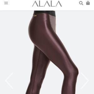 Alala oxblood leggings NWT